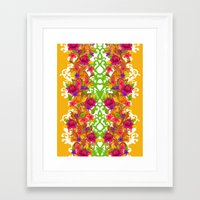 baroque Framed Art Prints featuring Baroque by Aimee St Hill