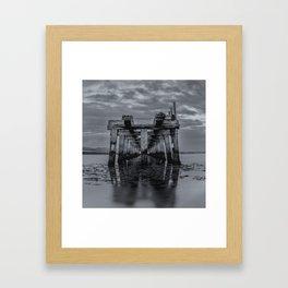 Old Wooden Bridge 2 Framed Art Print