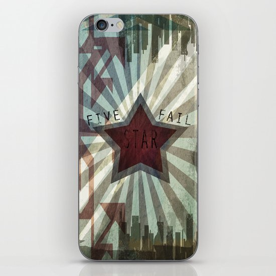 Five Star Fail. iPhone & iPod Skin