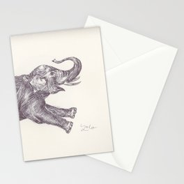 BALLPEN ELEPHANT 7 Stationery Cards