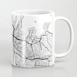 Sydney Map White Coffee Mug