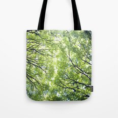 Green Maples Tote Bag