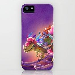 Raptor Swing - Warcraft iPhone Case