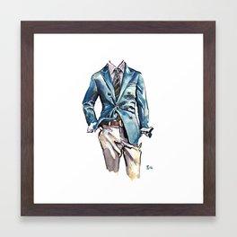 Cucinelli Style for Men Framed Art Print
