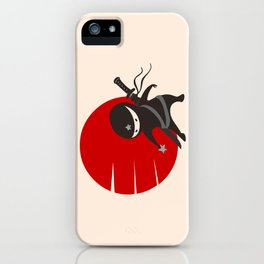 LITTLE NINJA STAR iPhone Case