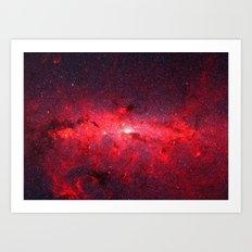 Unidentified Nebula Art Print