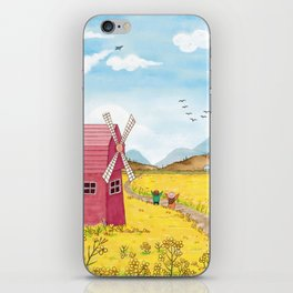 Outdoor Playing Children iPhone Skin