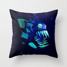 Doernbecher 5 Angler Fish Sneakerhead Gas Mask Throw Pillow