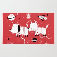 Astro dogs Rug