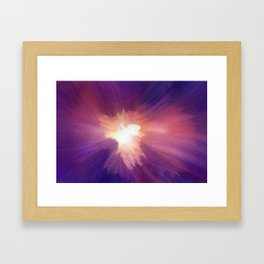 In the Confusion Framed Art Print