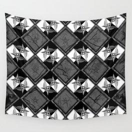 Unicursal Penta Pattern Wall Tapestry