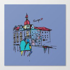 europe Canvas Print