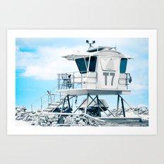 T7 - Baldwin Beach Park Maui Art Print