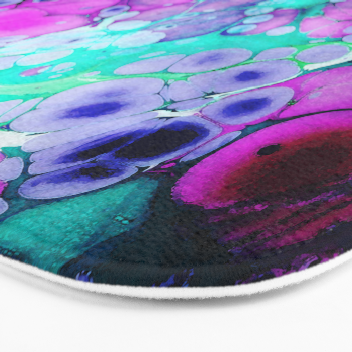 dreaming in color Bath Mat