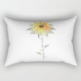 You are my sunshine sunflower Rectangular Pillow