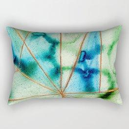"""Geo Ocean"" Rectangular Pillow"
