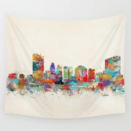 toledo ohio skyline Wall Tapestry