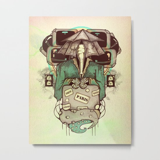 Transcendental Tourist Metal Print