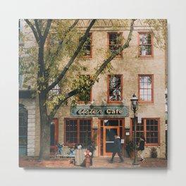 Aster Cafe Metal Print