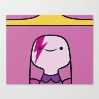 princess bubblegum Canvas Prints featuring Princess Bubblegum  by lapinette