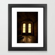 Paused In Time Framed Art Print