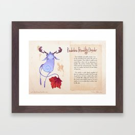 Real Monsters- Borderline Framed Art Print