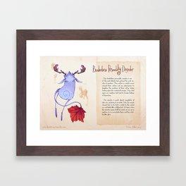 Real Monsters- Borderline Framed Art Print