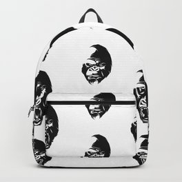 Angry Gorillas Pattern Backpack
