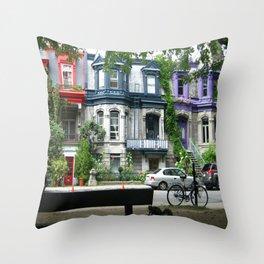 Montreal Canada Throw Pillow