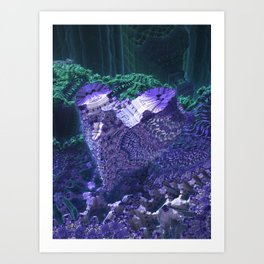 Hive Mind Art Print