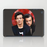larry stylinson iPad Cases featuring Polygonal Larry by Peek At My Dreams