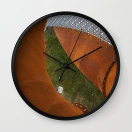 Iron structure Wall Clock