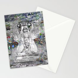 Sphinx in Roma - Vibrant Stationery Cards