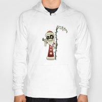 santa Hoodies featuring Santa Death by mangulica illustrations