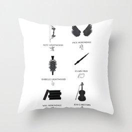 Nephilim Throw Pillow