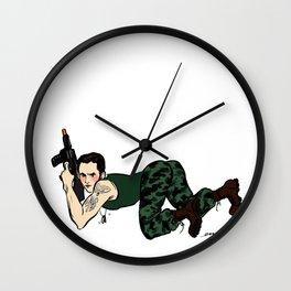Lt. Xander Pin up Wall Clock