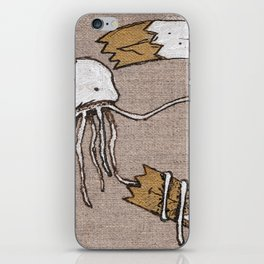 FuFu & SquidWhale iPhone Skin