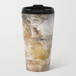 David Bowie Metal Travel Mug