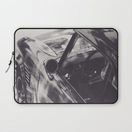 Triumph spitfire, black & white photography, Peter Lindbergh style, english sports car Laptop Sleeve