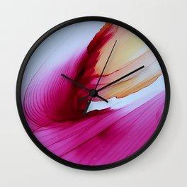 Raspberry Lemonade IV Wall Clock
