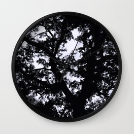 Aganist the Sky Wall Clock