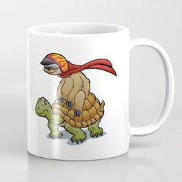 sloth riding a turtle Coffee Mug