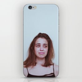 Please don't cry iPhone Skin