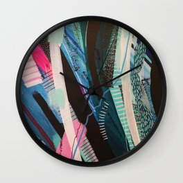 widow to the surf 102 Wall Clock