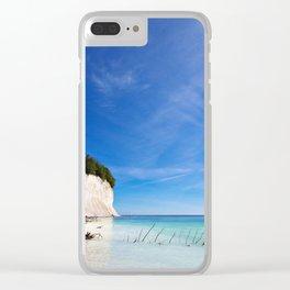 Chalk cliffs on the island Ruegen Clear iPhone Case
