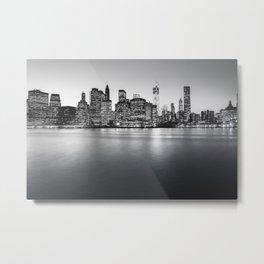 New York City Skyline - Financial District Metal Print