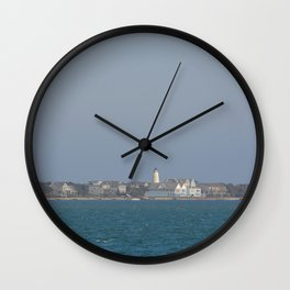 Ocracoke Island from the ferry Wall Clock