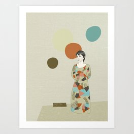 These are your senses Art Print