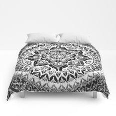 Yin Yang Mandala Pattern Comforters