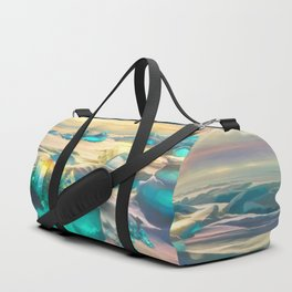 Crystal snow desert Duffle Bag